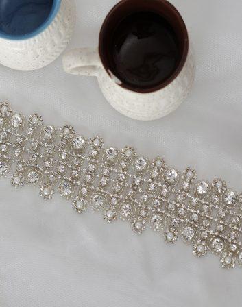 DIY Rhinestone Belt   La Vie En Rose   Trim Made of Crystals