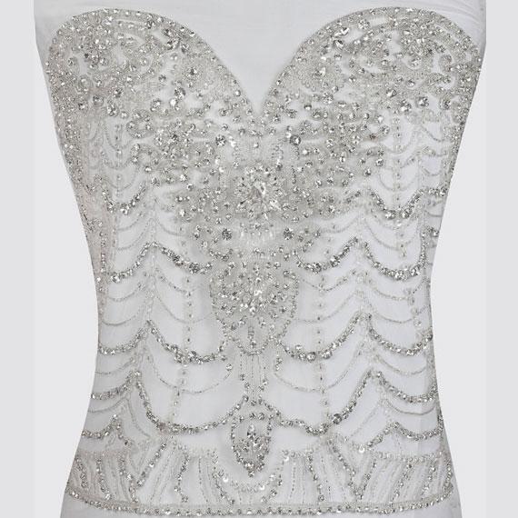 Illusion Wedding Dress: Angelina
